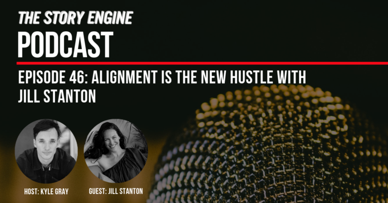 Title Banner: Alignment is the New Hustle with Jill Stanton
