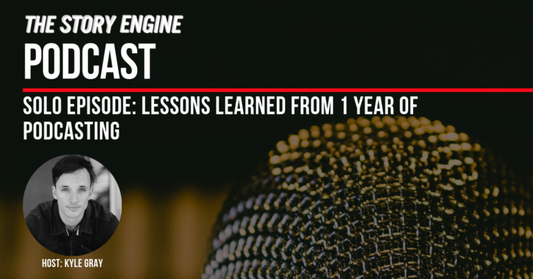 solo -Lessons I Learned From 1 Year Of Podcasting Banner FINAL