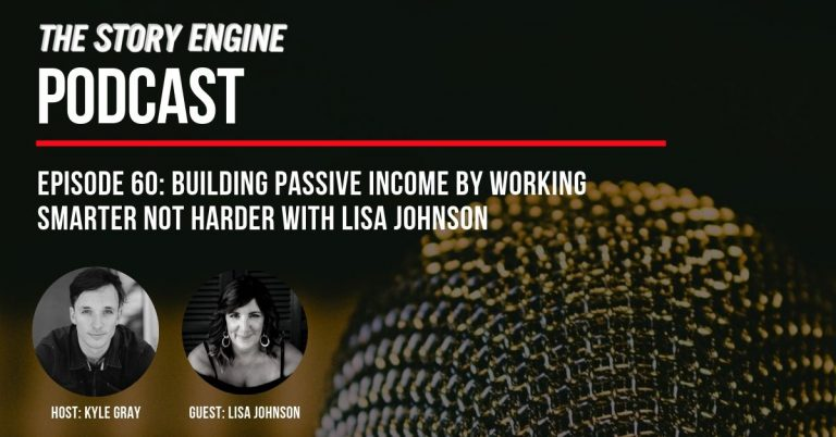 Banner: Building Passive Income by Working Smarter Not Harder with Lisa Johnson
