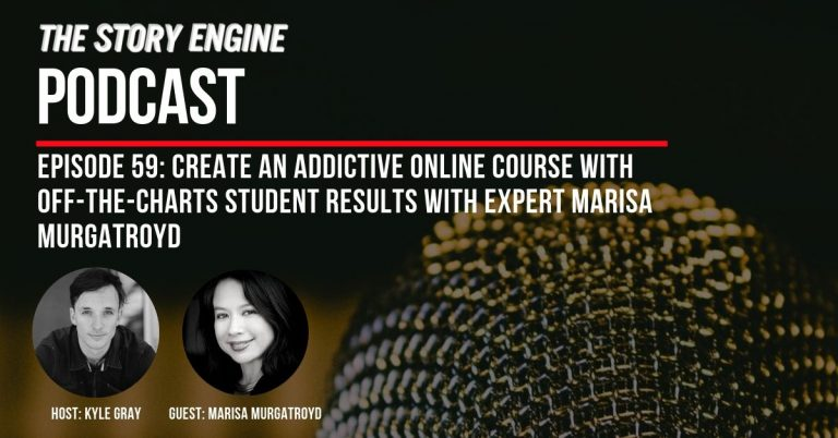 reate an Addictive Online Course with Off-the-Charts Student Results with Expert Marisa Murgatroyd