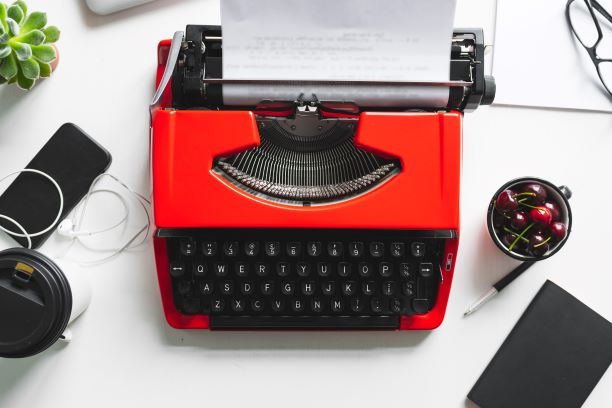 """A Type Writer To Write """"A Love Letter To Writing"""""""